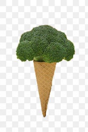 Broccoli - Ice Cream Vegetable Broccoli PNG