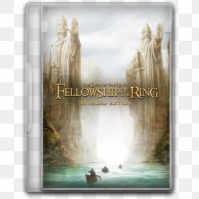 LOTR 1x The Fellowship Of The Ring Extended - Picture Frame Water Feature Stock Photography PNG