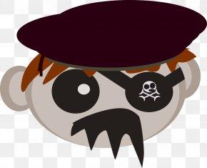 Pirate - Piracy Cartoon Clip Art PNG