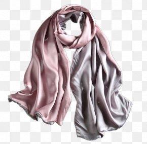 Pure Silk Autumn And Winter Female Silk Scarf - Silk Scarf Shawl Winter PNG