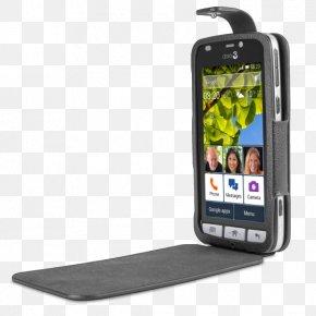 Smartphone - Smartphone Telephone Clamshell Design Screen Protectors Doro Liberto 825 PNG