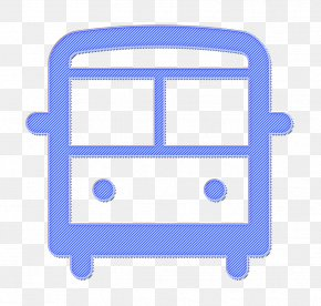 Travel Icon Transport Icon - Bus Icon Public Icon Road Icon PNG