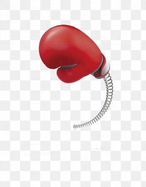 Boxing Glove - Red Boxing Glove Body Piercing Jewellery PNG