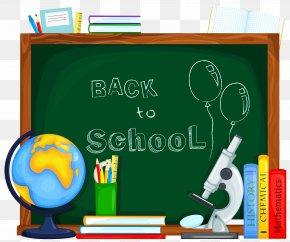 Back To School Clipart Picture - First Day Of School Student Clip Art PNG