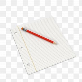 Pen And Paper - Paper Notebook Pencil PNG