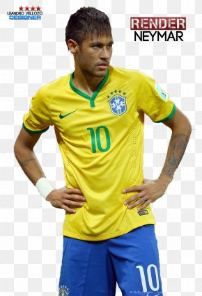 Neymar - Neymar Brazil National Football Team 2014 FIFA World Cup Football Player PNG