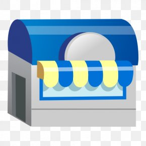 3D House Vector Material - Convenience Shop Illustration PNG