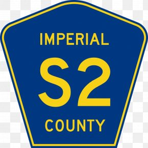 Imperial Clipart - County Routes In California U.S. Route 66 US County Highway Road PNG