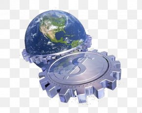 Earth Gear Dollar Sign - Earth Stock Photography Royalty-free PNG