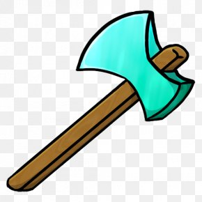 Axe Picture - Minecraft Pickaxe Clip Art PNG