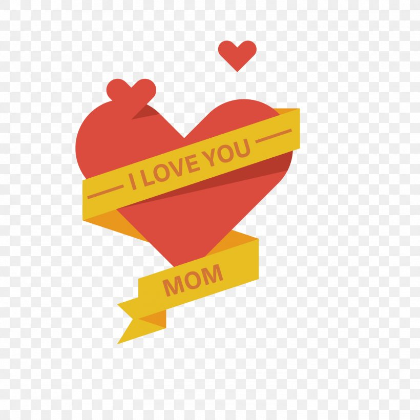 Mother's Day Illustration, PNG, 1500x1501px, Poster, Cover Art, Flat Design, Heart, Illustration Download Free