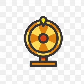 Yellow Turntable - Bitcoin Game Download Icon PNG
