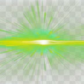 Green Radial Light Effect - Light Green Wallpaper PNG