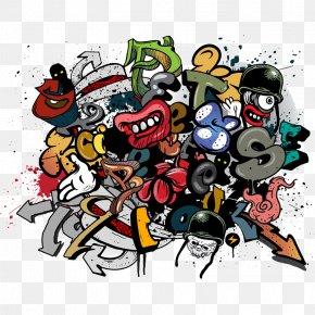 Graffiti - Mural Graffiti Paint Wall Wallpaper PNG