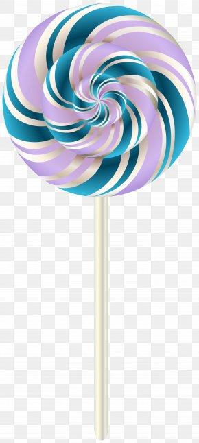 Swirl Lollipop Transparent Clip Art Image - Lollipop Stick Candy Clip Art PNG