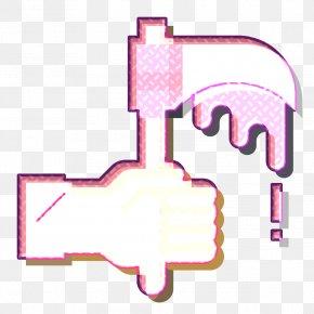 Magenta Terror Icon - Cultures Icon Fear Icon Reaper Icon PNG