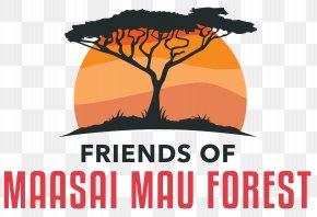 Mau Forest Logo Maasai People Tree PNG
