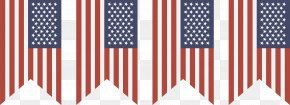 Decorative Vector American Flag - Flag Of The United States National Flag Euclidean Vector PNG