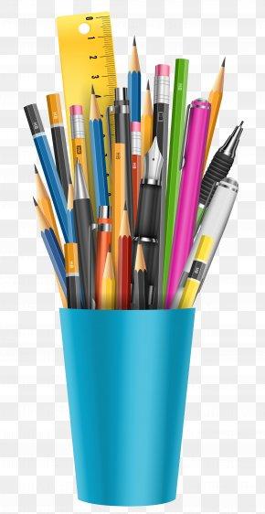 Pencil Cup Clipart Picture - Pencil Clip Art PNG