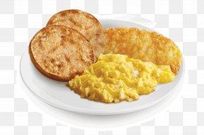 Breakfast - Full Breakfast Scrambled Eggs McDonald's Big Mac English Muffin PNG