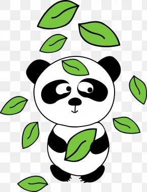 Vector Panda - Giant Panda Bear Euclidean Vector Clip Art PNG