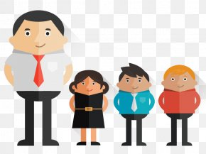 Cartoon Business People - Cartoon PNG