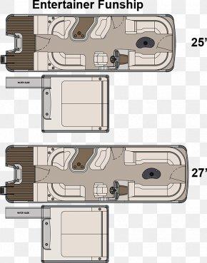 Pontoon Boat - Floor Plan Pontoon Houseboat Interior Design Services PNG