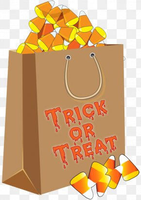 Cliparts Candy Treat - Trick-or-treating Halloween Candy Corn Clip Art PNG