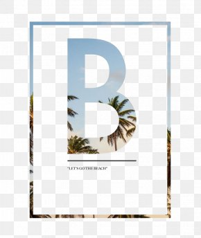 Letter B - Wedding Invitation Page Layout Promotion Idea PNG