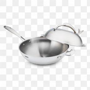 Steel Metal - Cookware And Bakeware Frying Pan Sauté Pan Saucepan Wok PNG
