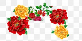 Peony - Mid-Autumn Festival Chinese New Year Wallpaper PNG