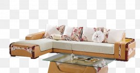 Sofa - Sofa Bed Living Room Couch Interior Design Services Textile PNG
