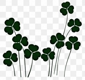 Plant Stem Symbol - St Patricks Day PNG