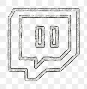 Rectangle Twitch Icon - Brand Icon Logo Icon Network Icon PNG