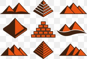Brick Pyramid Structure - Brick Structure Tile PNG
