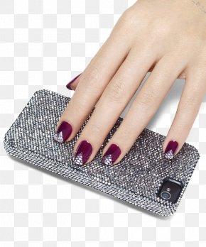 Nail Phone - Nail Polish Nail Art Manicure Franske Negle PNG