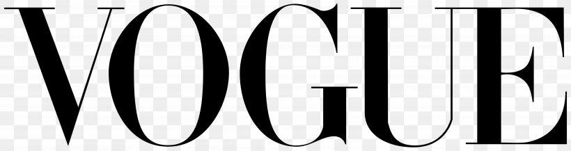 Vogue Logo Magazine Fashion, PNG, 5000x1325px, Vogue, Black, Black And White, Brand, Fashion Download Free