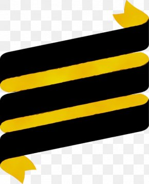 Logo Yellow - Yellow Clip Art Line Font Logo PNG