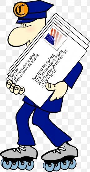Mailman - Cartoon - Free Transparent PNG Clipart Images Download