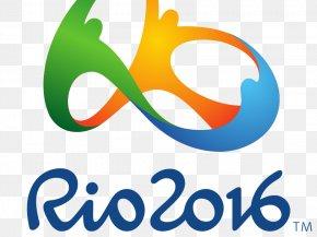 Olympic Games - Olympic Games Rio 2016 Rio De Janeiro Logo Design PNG