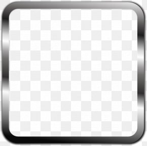 Black Border Frame Transparent - Black And White Pattern PNG