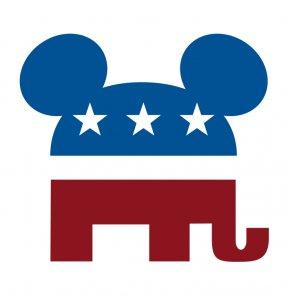 Republican Party Elephant - United States Republican Party Logo Democratic Party Clip Art PNG