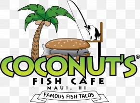 6th Anniversary - Coconut's Fish Cafe Cuisine Of Hawaii Fish And Chips Menu Take-out PNG