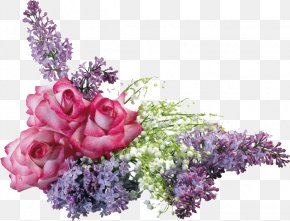 Flower - Cut Flowers Floral Design Common Lilac Flower Bouquet PNG