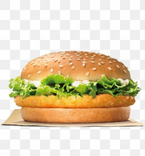 Chicken Burger - Hamburger Burger King Chicken Nuggets Chicken Sandwich TenderCrisp PNG