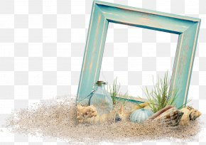 Vacation - Picture Frames Beach Photo Frame Image Vacation Sea PNG