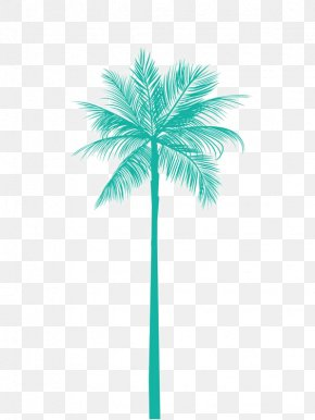 Coconut Tree - Arecaceae Tree Metal Palm Branch Gold PNG