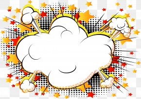 Vector Cloud Comics Explosion - Comics Cartoon Explosion Comic Book PNG
