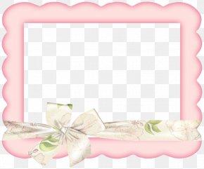 Elegant Pink Frame - Pink Picture Frame Clip Art PNG