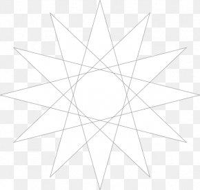 Circle - Star Polygon Circle Point Clip Art PNG